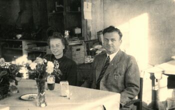 1948 - Get-together with Gisela and Kurt Menzel