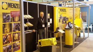 Menzel exhibiting at Maintec 2019