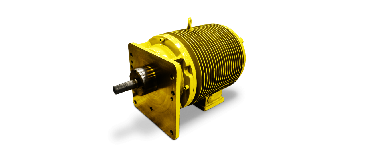 Three-phase roller table motors up to 1,000 V