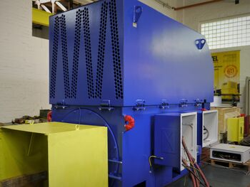 Slip-ring motor for coal mill drive application in Ex zone 22 hazardous area