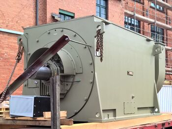 Synchronous generator manufactured for oil production