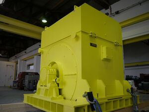 25 ton three-phase squirrel cage fan drive for Italy