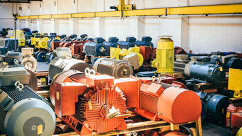 Large AC Motors from Stock