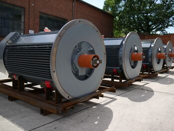 IP67 high voltage motors for Egypt