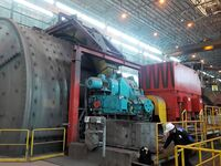 6.600 V high voltage mill motor working at iron ore mine