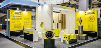 Menzel Stand at Hannover Messe