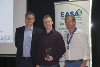 MENZEL test field technician wins young industry professionals award