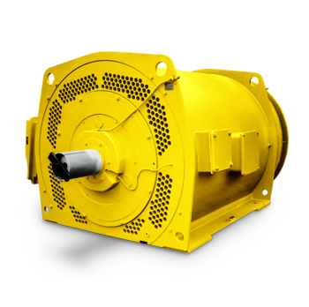 Pipe-cooled squirrel cage induction motor