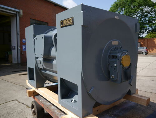 Air compressor drive for Cuba ready for delivery