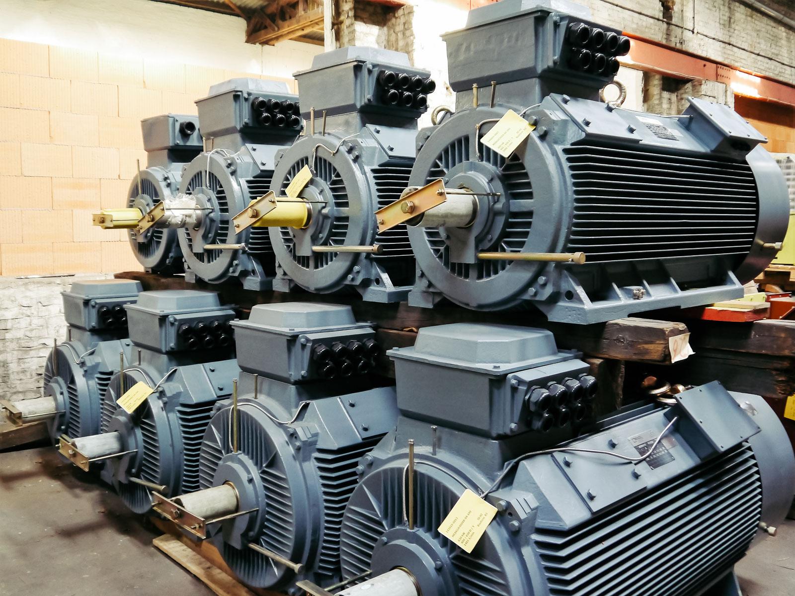 Moteurs électriques Industriels Menzel Depuis 1927