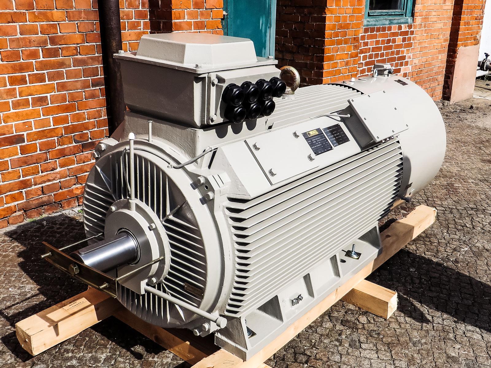 Kranmotoren bis 690 Volt + bis 600 kW